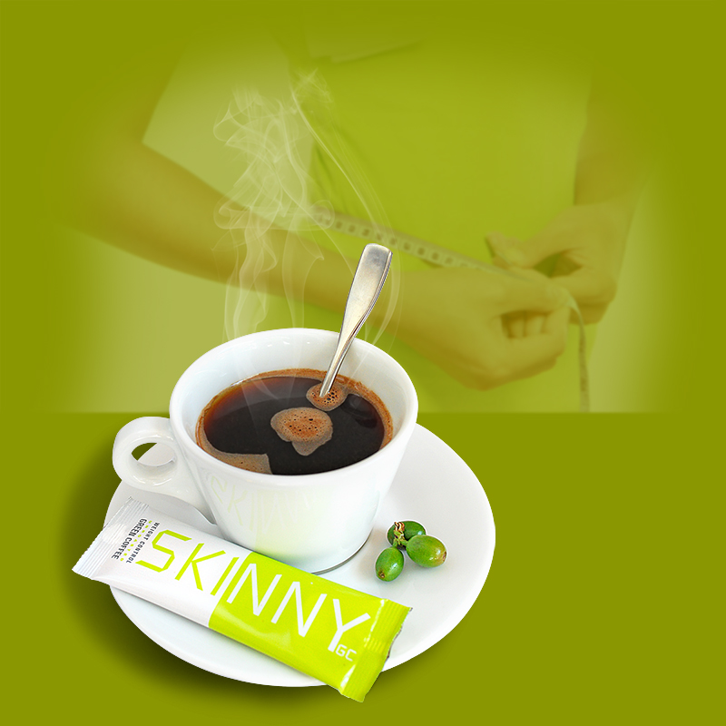 SKINNY GREEN COFFEE - Natural weight loss coffee